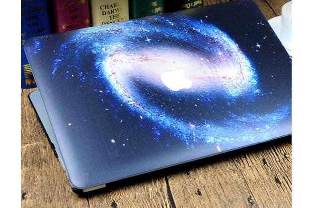 "Фирменный ультра-тонкий пластиковый чехол-футляр-кейс для Apple MacBook Air 11 Early 2015 (MJVM2/ MJVP2) 11.6 / Apple MacBook Air 11 Early 2014 ( MD711 / MD712) 11.6 ""тематика Космос"""