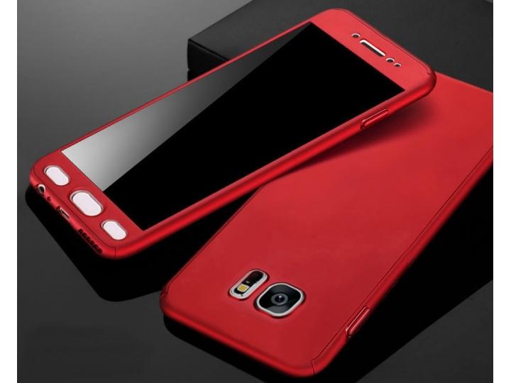 Фирменный уникальный чехол-бампер-панель с полной защитой дисплея и телефона по всем краям и углам для Samsung..
