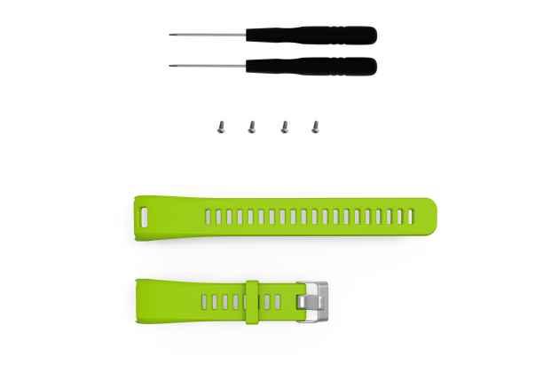 Фирменный сменный силиконовый ремешок для умных смарт-часов Garmin vivosmart HR