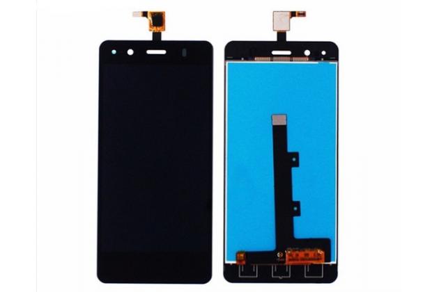 Фирменный LCD-ЖК-сенсорный дисплей-экран-стекло в сборе с тачскрином на телефон BQ Aquaris A4.5 16Gb 1Gb RAM/A4.5 16Gb 2Gb RAM черный + гарантия