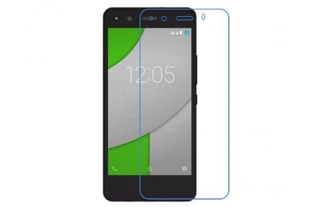 Фирменная оригинальная защитная пленка для телефона BQ Aquaris A4.5 16Gb 1Gb RAM/A4.5 16Gb 2Gb RAM глянцевая