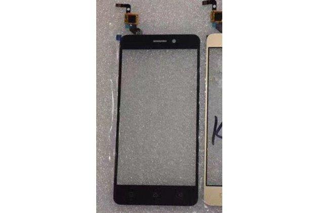 Фирменное сенсорное-стекло-тачскрин на Lenovo K6/ K6 Power 5.0 черный + инструменты для вскрытия + гарантия