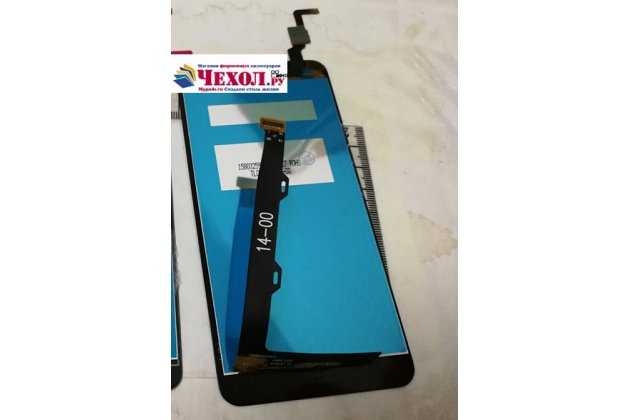 Фирменный LCD-ЖК-сенсорный дисплей-экран-модуль запчасть в сборе с тачскрином на телефон Lenovo K6/ K6 Power 5.0 черный + гарантия