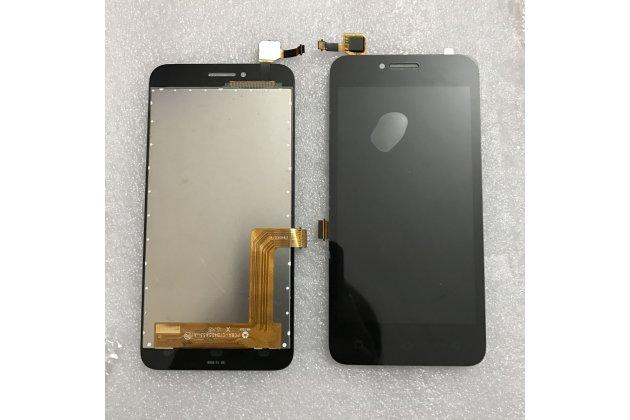 """Фирменное сенсорное-стекло-тачскрин на Lenovo Vibe B / A1010 (A2016A40) PA4R0021RU 4.5"""" черный + инструменты для вскрытия + гарантия"""