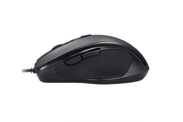 Фирменная проводная компьютерная USB мышь ASUS UX300 Optical Mouse черная 1600 DPI