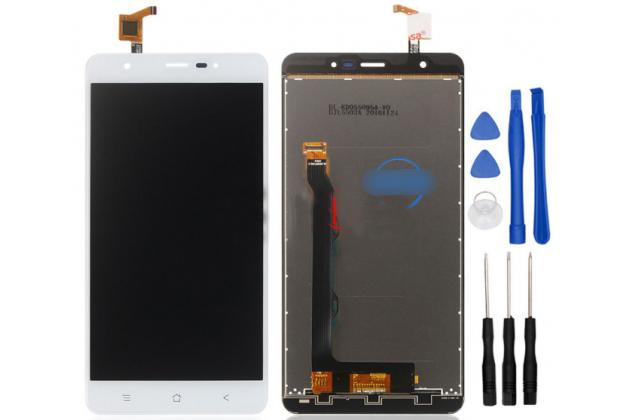 Фирменный LCD-ЖК-сенсорный дисплей-экран-стекло в сборе с тачскрином на телефон Blackview R6 белый + гарантия