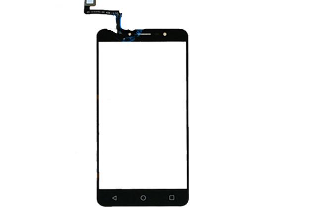 Фирменное сенсорное-стекло-тачскрин на Alcatel A3 XL 9008D / Alcatel A3 XL 9008X черный + инструменты для вскрытия + гарантия