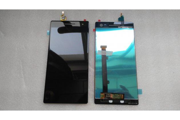 Фирменный LCD-ЖК-сенсорный дисплей-экран-модуль запчасть в сборе с тачскрином на телефон Lenovo Phab 2 Pro PB2-690N черный + гарантия