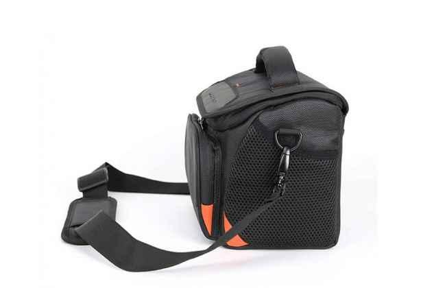Фирменный оригинальный чехол-сумка-бокс для фотоаппарата Fujifilm X100F/X100S/X100S/X100T/X20/X30/X70/XF1/XQ1/XQ20 с отделением для дополнительных аксессуаров из высококачественного материала
