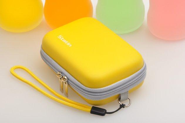 Чехол-бокс для фотоаппарата Olympus Mju 7050/ Mju 9000/ Mju TOUGH-3000/ Mju TOUGH-6000/ Mju TOUGH-6010/ Mju TOUGH-6020 из высококачественного материала желтый