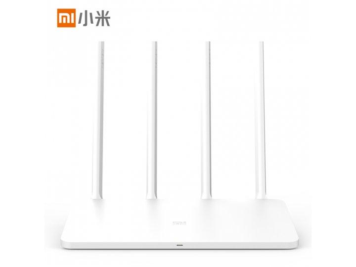 Фирменный оригинальный беспроводной маршрутизатор/роутер Xiaomi Mi Wi-Fi Router 3 MIR3 (2.4G/5G/WAN/ 1167 Мбит..