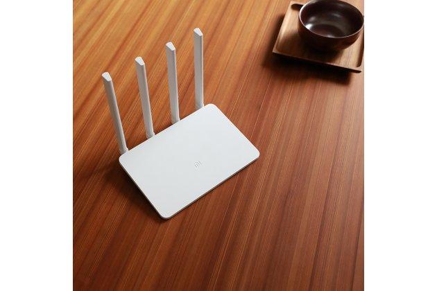 Фирменный оригинальный беспроводной маршрутизатор/роутер Xiaomi Mi Wi-Fi Router 3 MIR3 (2.4G/5G/WAN/ 1167 Мбит/с) c переходником на нашу розетку + гарантия