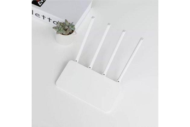Фирменный оригинальный беспроводной маршрутизатор/роутер Xiaomi Mi Wi-Fi Router 3C (R3L) c переходником на нашу розетку + гарантия