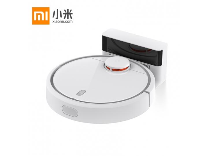 Фирменный оригинальный умный робот-пылесос Xiaomi Mi Robot Vacuum Cleaner (сухая уборка, боковые щетки, Li-Ion..