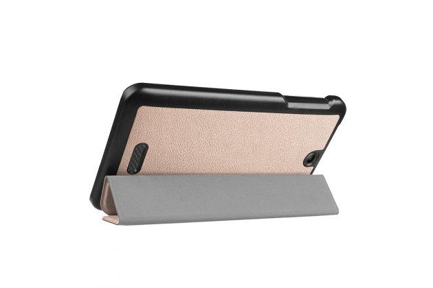 Фирменный умный чехол самый тонкий в мире для Acer Iconia One 7 B1-780 (NT.LCJEE.004) iL Sottile золотой пластиковый Италия