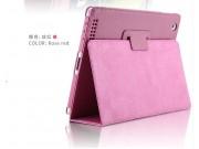Фирменный чехол-обложка с подставкой для Acer Iconia One B3-A20 (NT.LBYEE.004) фиолетовый кожаный..