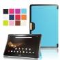 Фирменный умный чехол самый тонкий в мире для Acer Iconia Tab 10 A3-A40 2016 iL Sottile голубой пластиковый Ит..