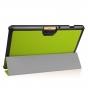 Фирменный умный чехол самый тонкий в мире для Acer Iconia Tab 10 A3-A40 2016 iL Sottile зеленый пластиковый Ит..
