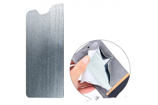 Фирменный оригинальный чехол-книжка для Alcatel A3 XL 9008D/9008X водоотталкивающий черный