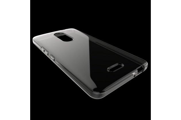 Фирменная ультра-тонкая полимерная из мягкого качественного силикона задняя панель-чехол-накладка для Alcatel A3 XL 9008D/9008X прозрачная