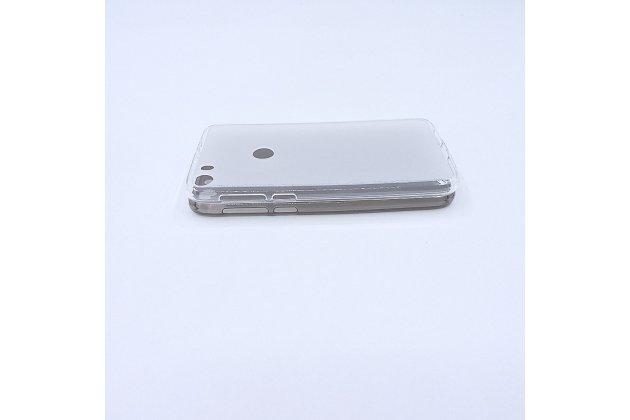 Фирменная ультра-тонкая полимерная из мягкого качественного силикона задняя панель-чехол-накладка для Alcatel Idol 5 6058D белая