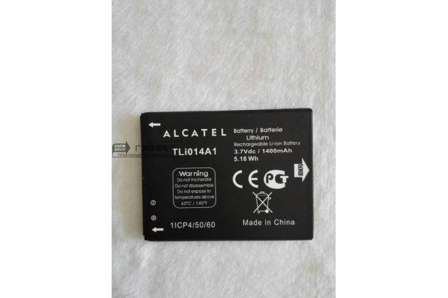 Фирменная аккумуляторная батарея 1400mAh TLi014A1 на телефон Alcatel PIXI 3(4) 4013D/X / PIXI 3(4.5) 4027D/X / One Touch POP D3 4035D/X + инструменты для вскрытия + гарантия