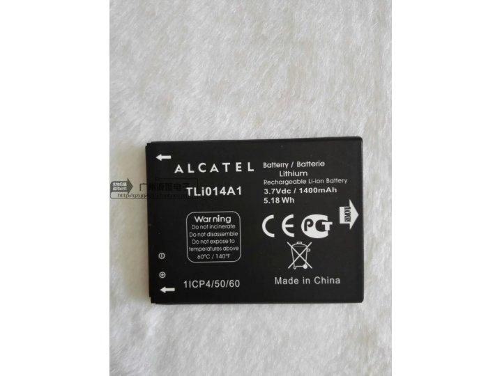 Фирменная аккумуляторная батарея 1400mAh TLi014A1 на телефон Alcatel PIXI 3(4) 4013D/X / PIXI 3(4.5) 4027D/X /..