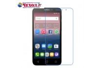 Фирменная оригинальная защитная пленка для телефона Alcatel Pixi 4 (5) 5010D глянцевая