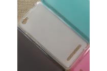 Фирменная ультра-тонкая полимерная из мягкого качественного силикона задняя панель-чехол-накладка для Alcatel PIXI 4 Plus Power белая