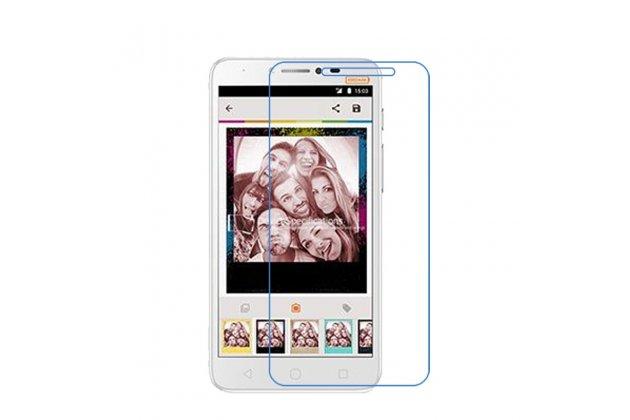 Фирменная оригинальная защитная пленка для телефона Alcatel PIXI 4 Plus Power глянцевая