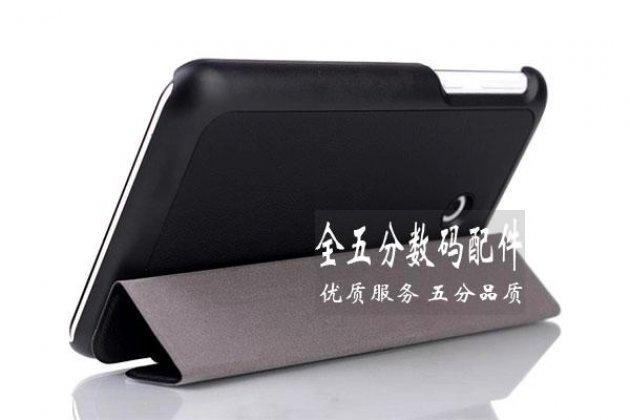 Фирменный умный чехол самый тонкий в мире для Asus Memo Pad 7 ME170C model K017 iL Sottile черный пластиковый Италия
