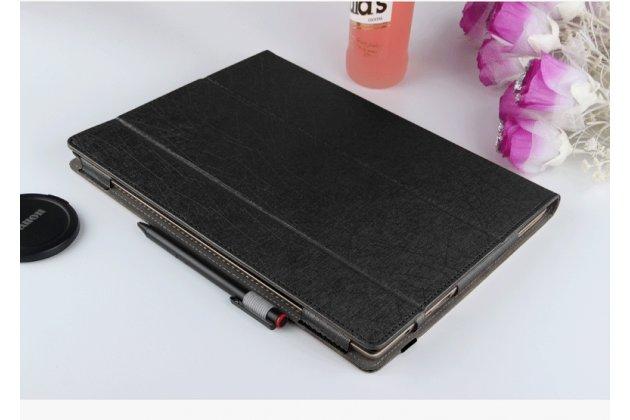 Фирменный оригинальный чехол для ASUS Transformer 3 Pro T303UА (GN052T) 12.6 с отделением под клавиатуру черный водоотталкивающий