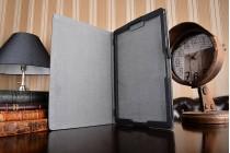 Фирменный чехол-обложка с мультиподставкой для ASUS Transformer 3 T305CA (GW014T) 12.6 черный кожаный