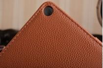Фирменный чехол-обложка с мультиподставкой для ASUS Transformer 3 T305CA (GW014T) 12.6 коричневый кожаный
