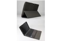 Фирменный оригинальный чехол для ASUS Transformer Book T100HA / Z8500 10.1 с отделением под клавиатуру черный кожаный