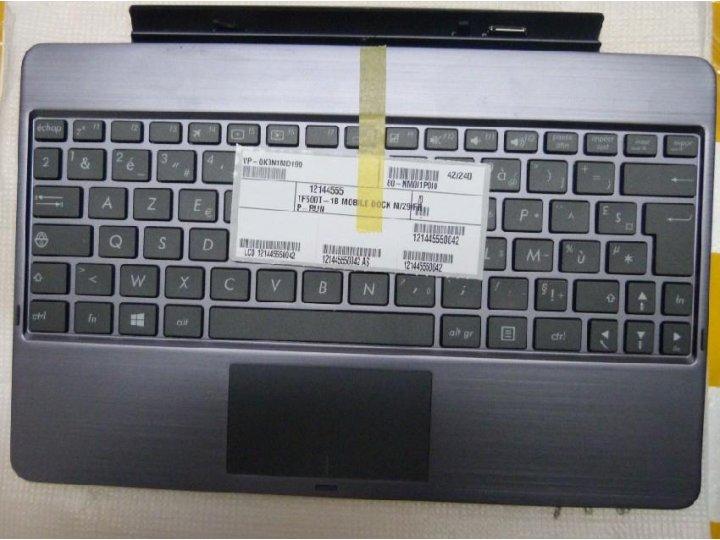 Фирменная оригинальная съемная клавиатура/док-станция/база для планшета Asus VivoTab RT TF600T/TF600TG черного..