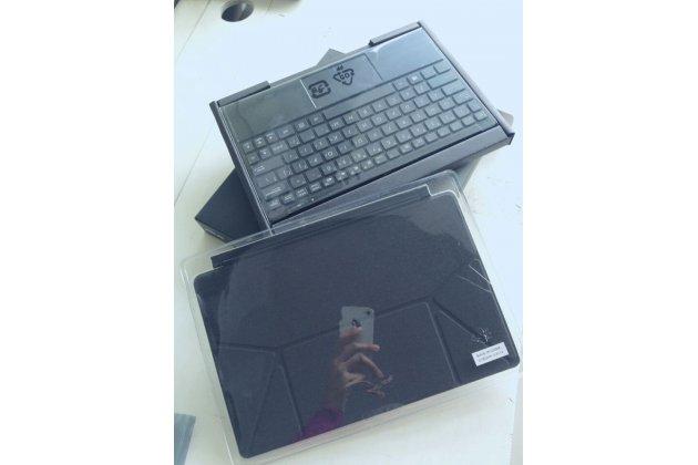 Фирменная оригинальная съемная клавиатура/док-станция/база для планшета Asus VivoTab Smart ME400C/ME400CL черного цвета + гарантия + русские клавиши