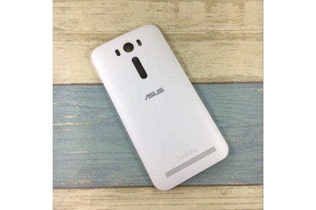 Родная оригинальная задняя крышка-панель которая шла в комплекте для ASUS Zenfone 2 Lazer ZE500KL/ZE500KG (Z00ED) белая