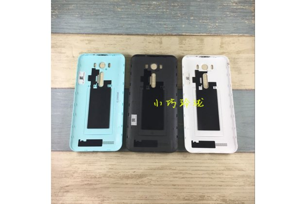 Родная оригинальная задняя крышка-панель которая шла в комплекте для ASUS Zenfone 2 Lazer ZE500KL/ZE500KG (Z00ED) чёрная