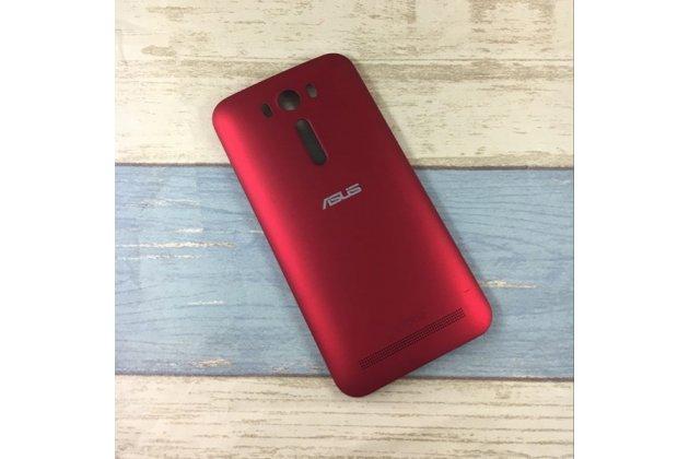 Родная оригинальная задняя крышка-панель которая шла в комплекте для ASUS Zenfone 2 Lazer ZE500KL/ZE500KG (Z00ED) красная