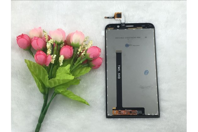 Фирменный LCD-ЖК-сенсорный дисплей-экран-стекло с тачскрином на телефон ASUS Zenfone 2 Lazer ZE550KL 5.5 (Z00LD) черный + гарантия