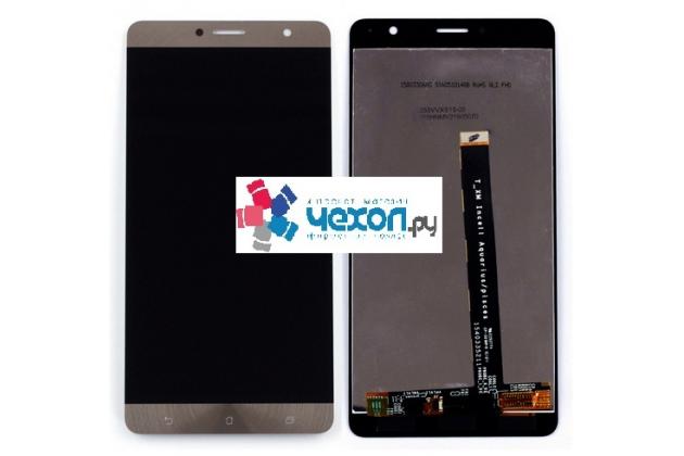 Фирменный LCD-ЖК-сенсорный дисплей-экран-стекло с тачскрином на телефон ASUS ZenFone 3 Deluxe ZS550KL 5.5 золотая + гарантия