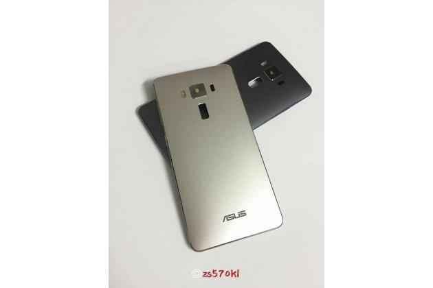 Родная оригинальная задняя крышка-панель которая шла в комплекте для ASUS ZenFone 3 Deluxe ZS570KL 5.7 (Z016D) цвет шампанского