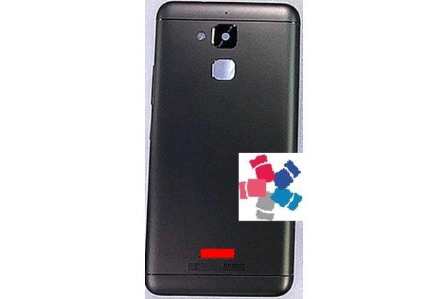 Фирменная задняя панель-крышка-накладка из тончайшего и прочного пластика для ASUS ZenFone 3 Laser ZC551KL 5.5 черная