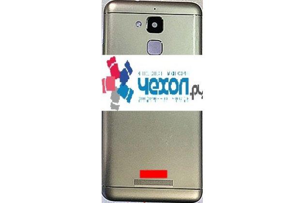 Фирменная задняя панель-крышка-накладка из тончайшего и прочного пластика для ASUS ZenFone 3 Laser ZC551KL 5.5 серебряная