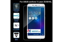 Фирменное защитное закалённое противоударное стекло премиум-класса из качественного японского материала с олеофобным покрытием для телефона ASUS ZenFone 3 Laser ZC551KL 5.5
