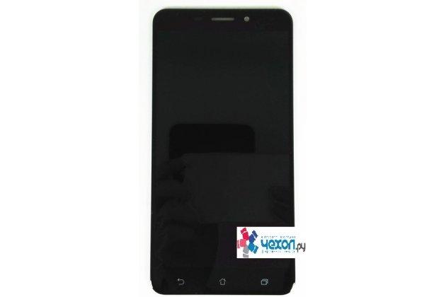 Фирменный LCD-ЖК-сенсорный дисплей-экран-стекло с тачскрином на телефон ASUS ZenFone 3 Laser ZC551KL 5.5 черный + гарантия