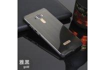 Фирменная металлическая задняя панель-крышка-накладка из тончайшего облегченного авиационного алюминия для ASUS ZenFone 3 Laser ZC551KL 5.5 черная