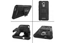 Противоударный усиленный ударопрочный фирменный чехол-бампер-пенал для ASUS ZenFone 3 Max ZC520TL 5.2 (X008D Z01B) черный