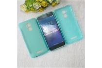 Фирменная ультра-тонкая полимерная из мягкого качественного силикона задняя панель-чехол-накладка для ASUS ZenFone 3 Max ZC520TL 5.2 голубая